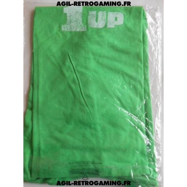 T-Shirt Nintendo Power-Up Vert