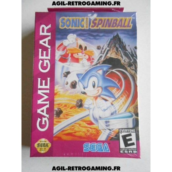 Sonic Spinball sur Game Gear