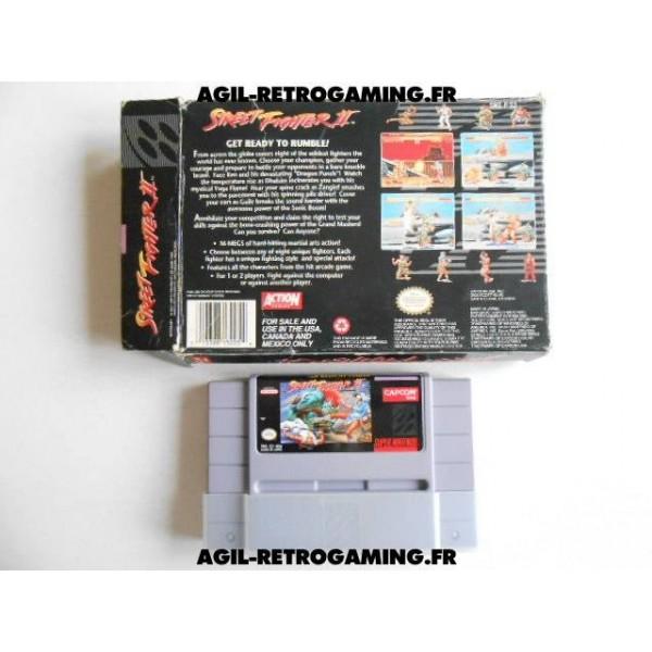 Street Fighter II en boite US