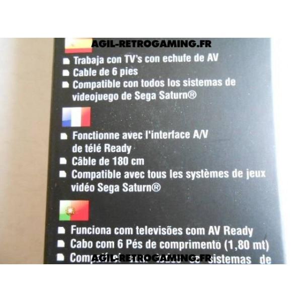 Câble A/V pour Sega Saturn