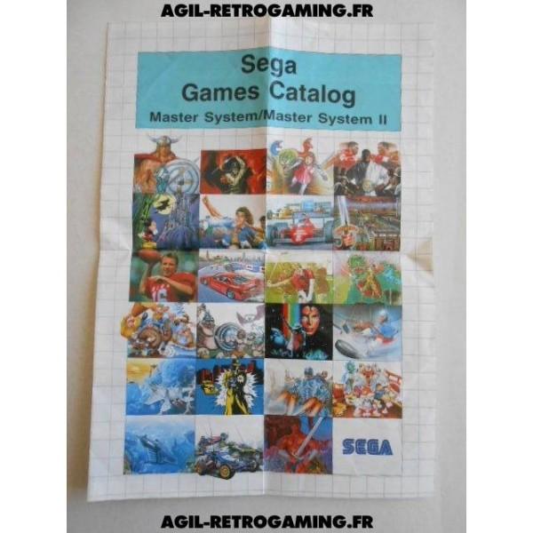 Sega Games Catalog