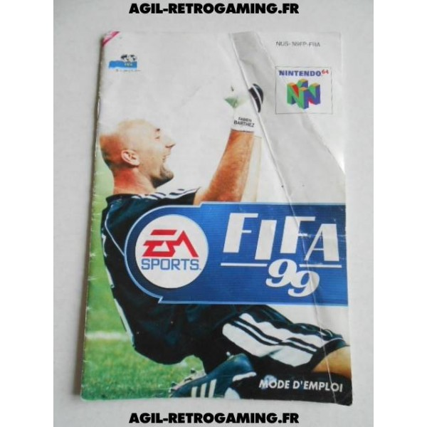 FIFA 99 - Mode d'emploi N64