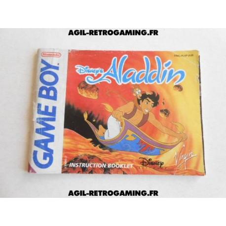 Aladdin GB - Mode d'emploi
