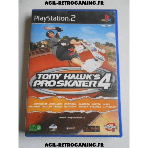 Tony Hawk's Pro Skater 4 PS2
