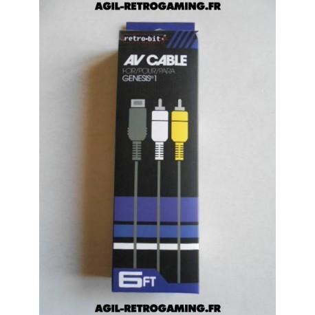 Câble A/V pour Sega Megadrive