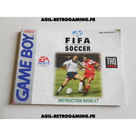 FIFA - Notice Game Boy