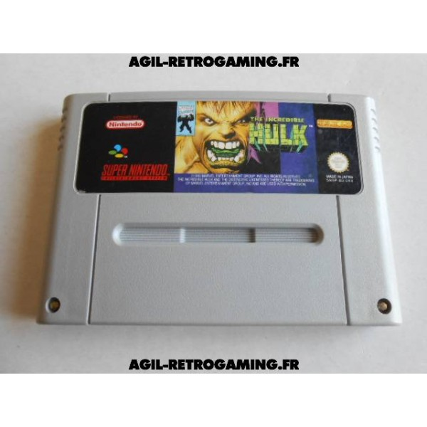 The Incredible Hulk SNES