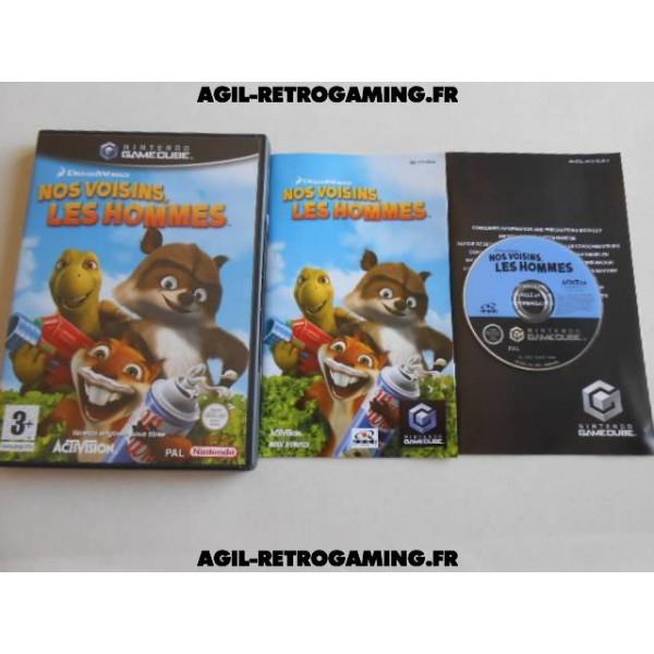 Nos Voisins, les Hommes pour GameCube
