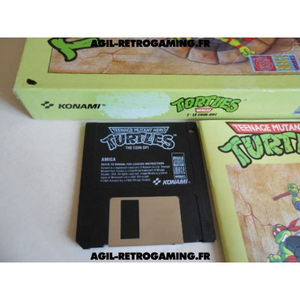 Tortues Ninja Le Coin-Op! Amiga