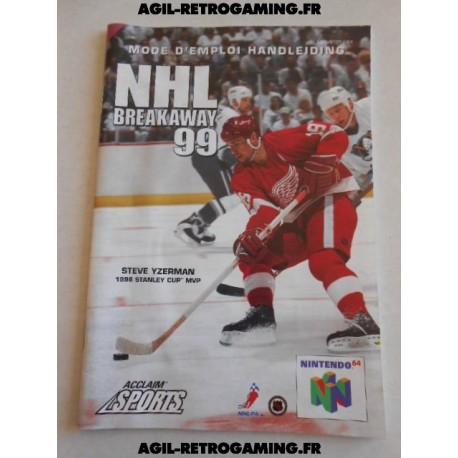 NHL Breakaway '99 - Notice