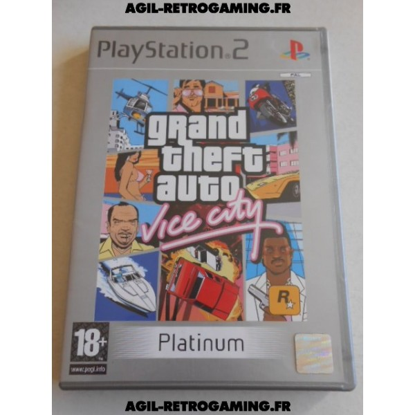 Grand Theft Auto (GTA) : Vice City sur PS2