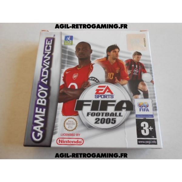 Fifa 2005 sur GBA