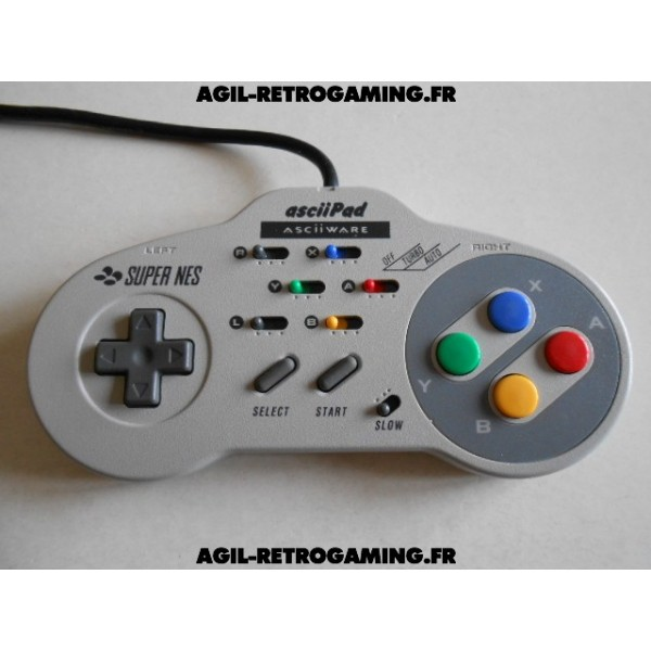 Manette SNES Turbo asciiPad