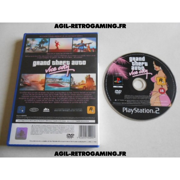 Grand Theft Auto (GTA) : Vice City pour PS2