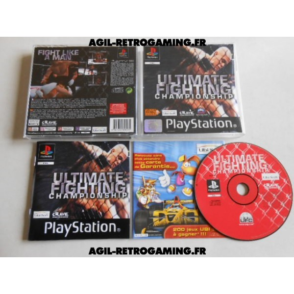 Ultimate Fighting Championship PS1
