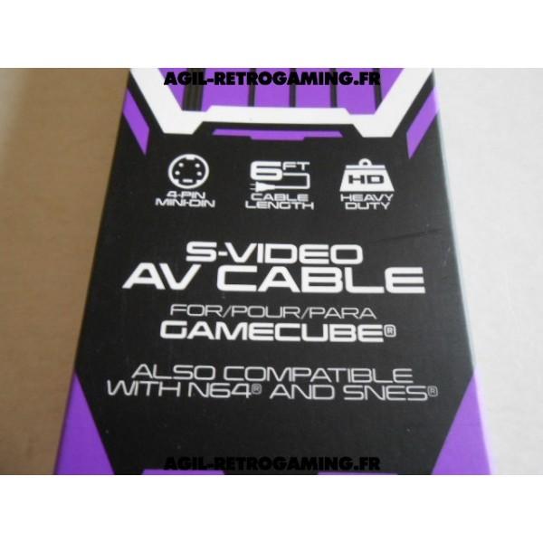 Câble S-Video A/V pour GameCube