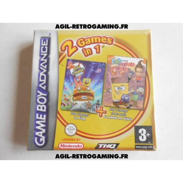Pack de 2 jeux Bob l'éponge et ses amis : Le Film + La Photo en Délire