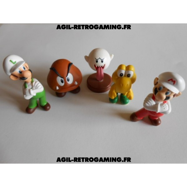 Lot de 5 Figurines Officielles Nintendo