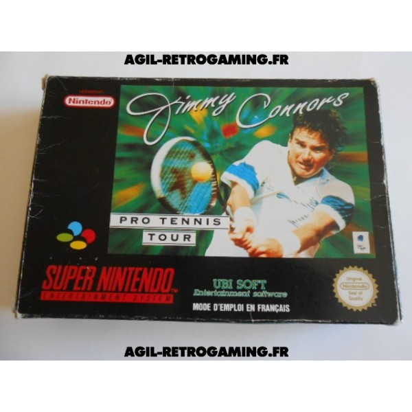 Jimmy Connors Tennis SNES