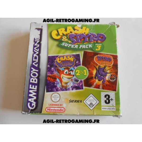 Crash & Spyro Super Pack Volume 3