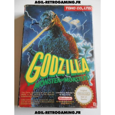 Godzilla sur NES