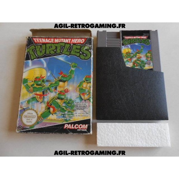 Teenage Mutant Hero Turtles sur NES