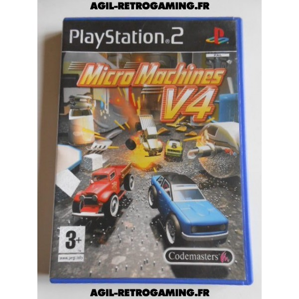 Micro Machines V4 sur PS2