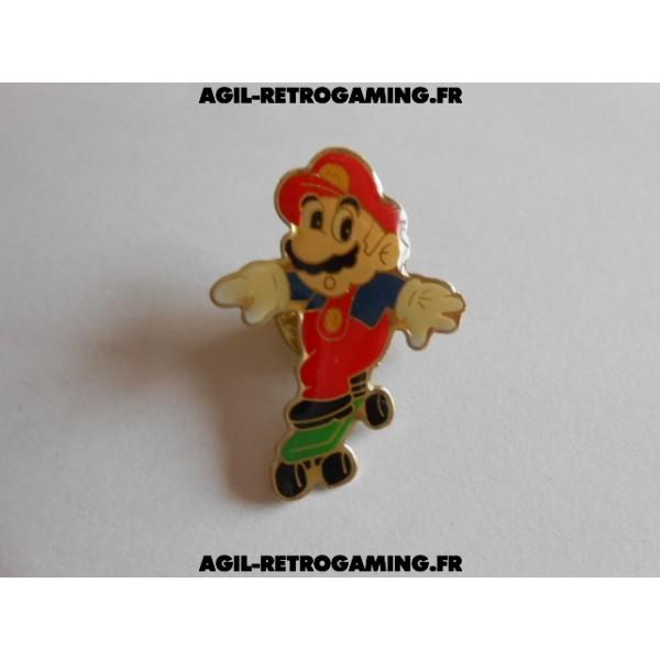 Pin's Mario en skate