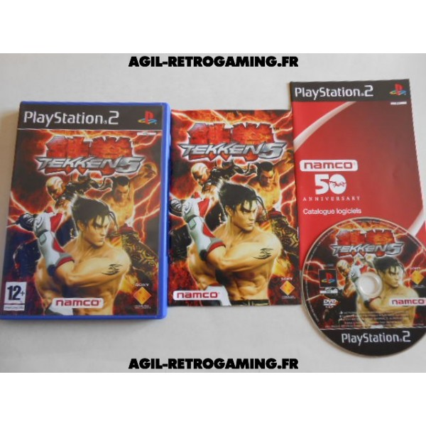 Tekken 5 sur PS2