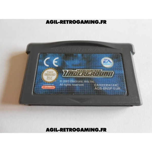 Need For Speed Underground GBA