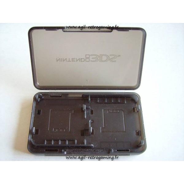 Boitier de protection pour 2 jeux Nintendo 3DS