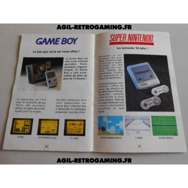 Catalogue Nintendo - NES