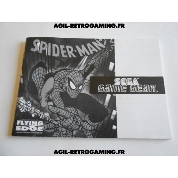 Spider-Man GG - Mode d'emploi