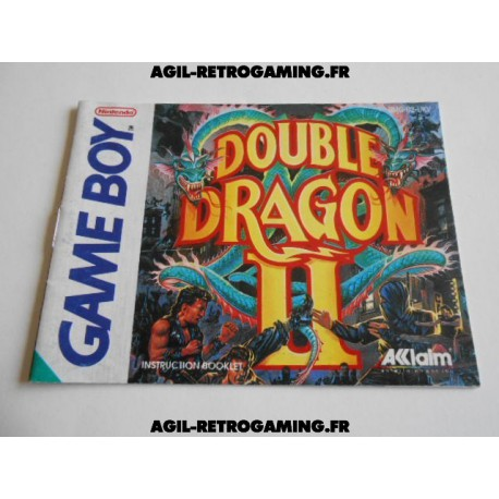 Double Dragon II GB - Mode d'emploi