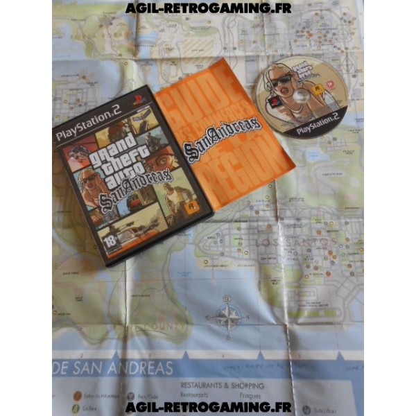 Grand Theft Auto (GTA) : San Andreas pour PS2