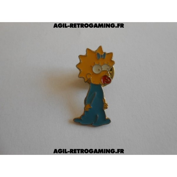 Pin's Maggie - Les Simpsons