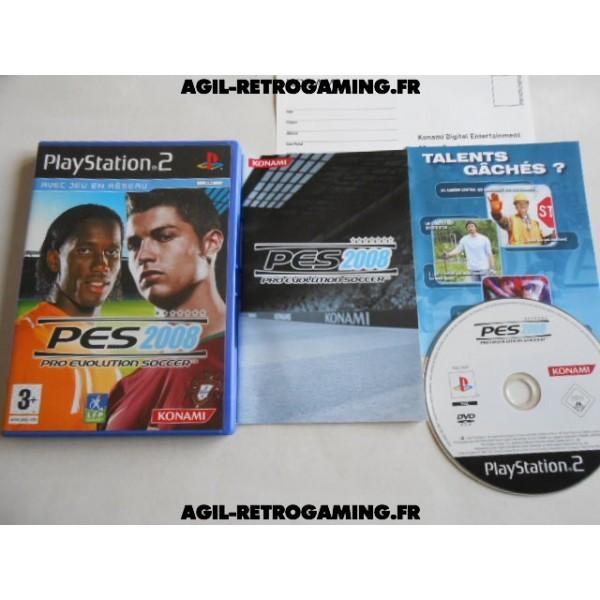 Pro Evolution Soccer 2008 (PES 2008) PS2