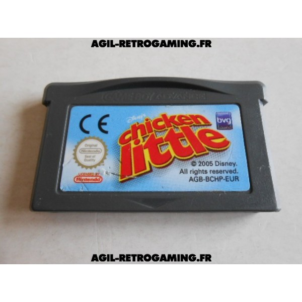 Chicken Little pour Game Boy Advance