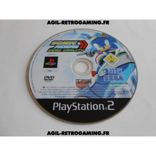 Sonic Riders: Zero Gravity PS2