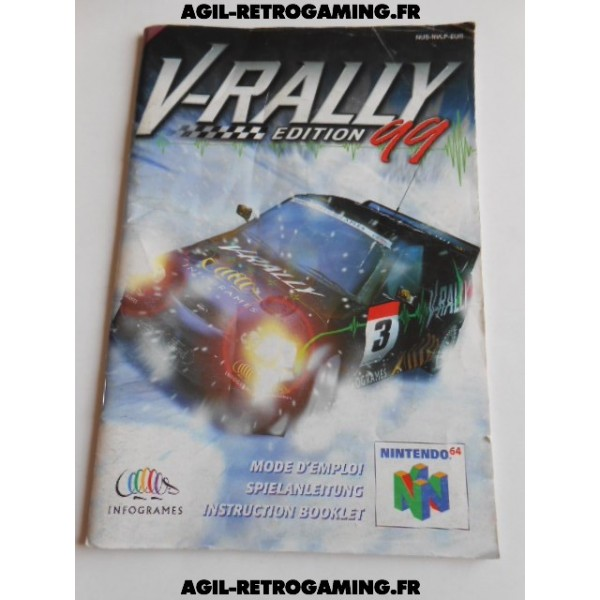 V-Rally Edition 99 - Mode d'emploi N64