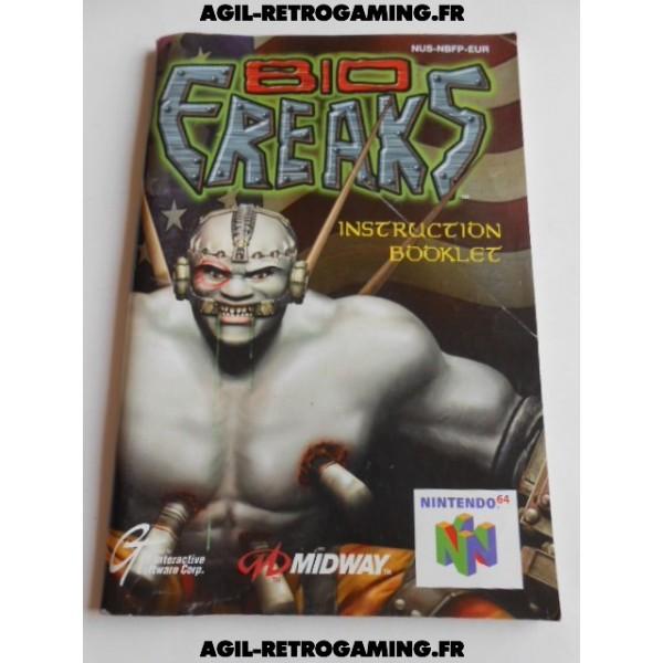 Bio Freaks - Mode d'emploi N64