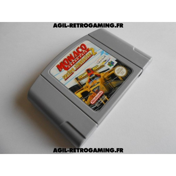 Monaco Grand Prix Racing Simulation 2 N64