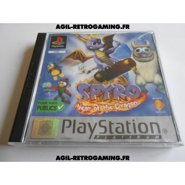 Spyro : Year Of The Dragon sur PS1