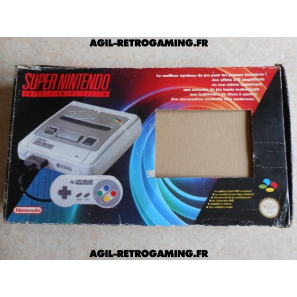 Console Super Nintendo en boite