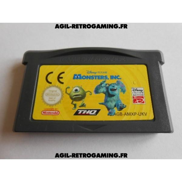 Disney Pixar Monstres et Cie GBA