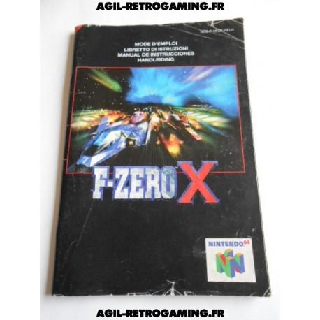 F-Zero X - Mode d'emploi N64