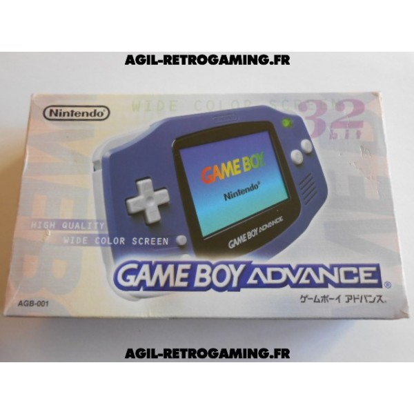 Console Game Boy Advance en boite