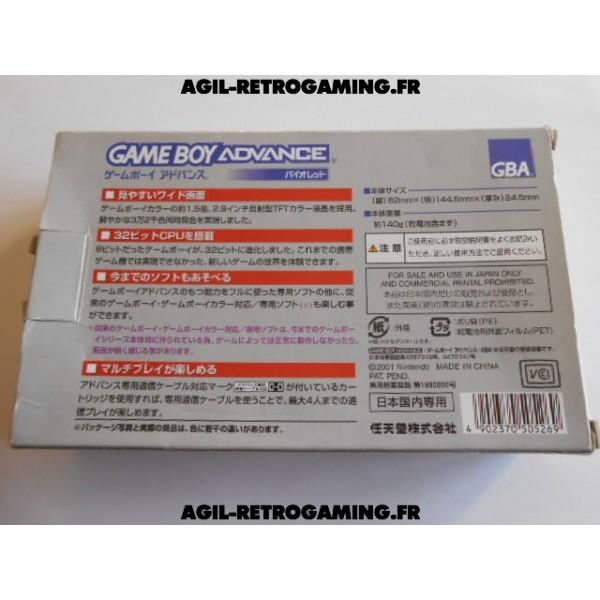 Console Game Boy Advance en boite