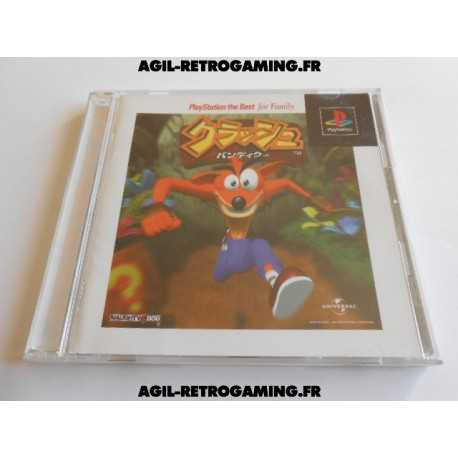 Crash Bandicoot Jap PS1