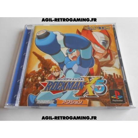 Rockman X5 sur PS1